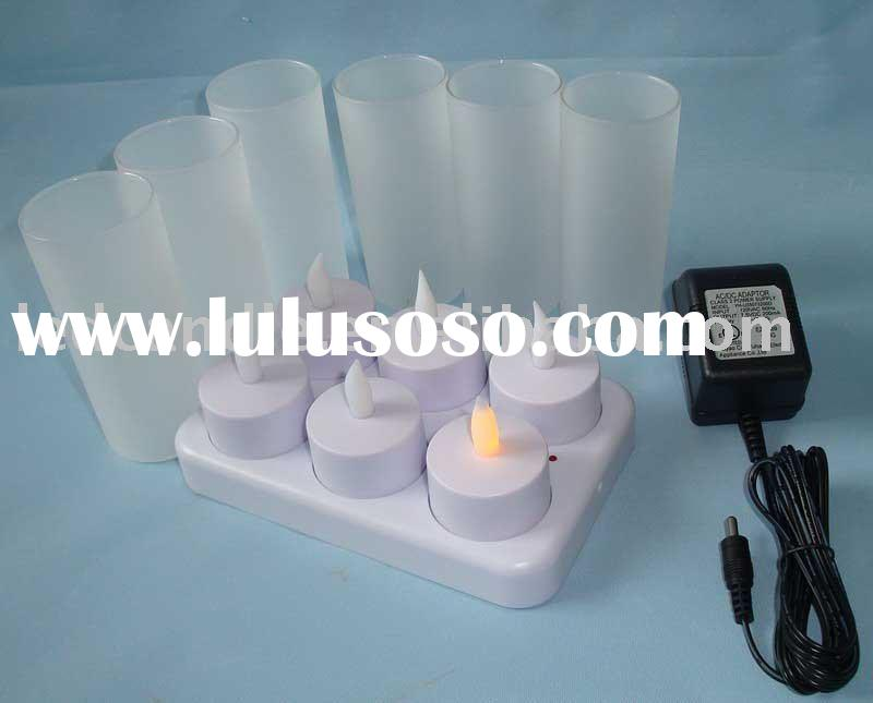 flameless LED rechargeable candles