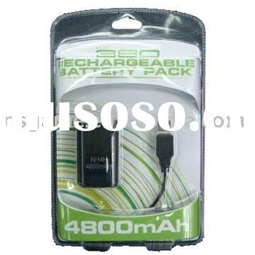 for Xbox360 rechargeable battery