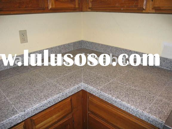 modular granite tile, tile countertops, kitchen tops