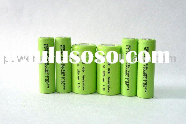 nimh rechargeable battery 2400mah