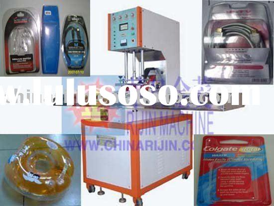 sliding table high frequency blister packing machine