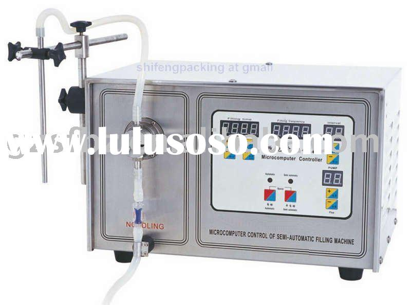 small scale filler packaging machine (digital display, single nozzle)