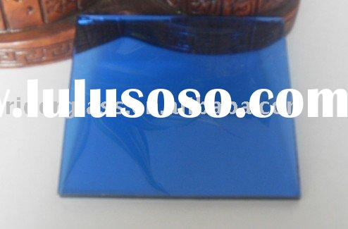 5mm Royal Blue Reflective Glass
