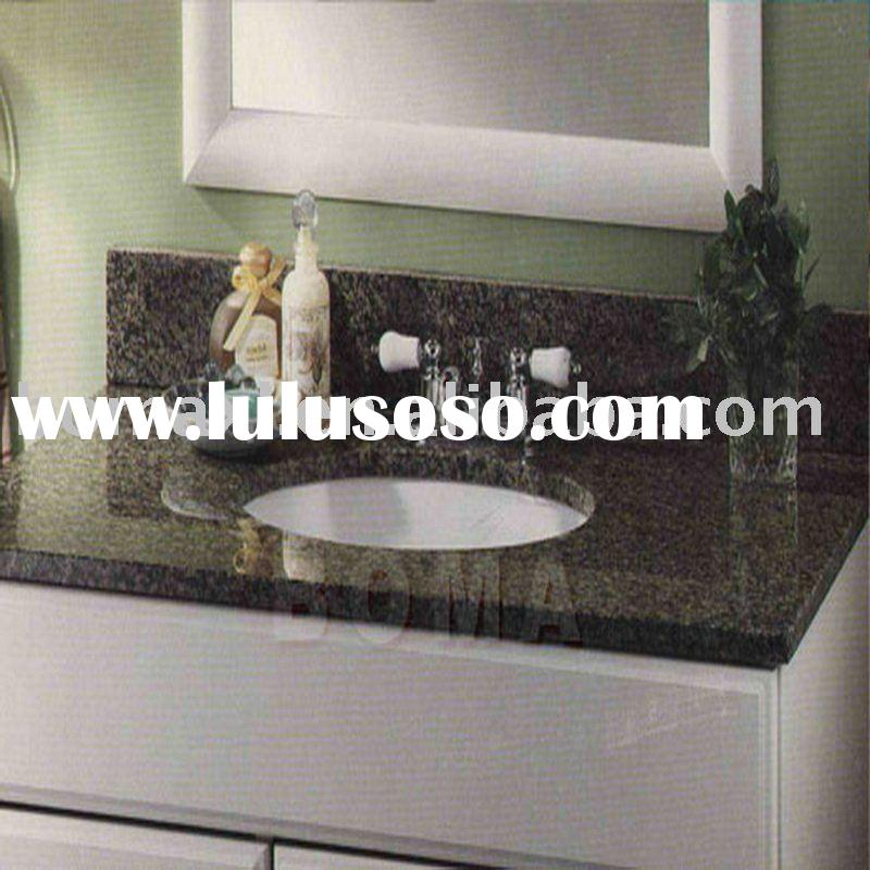 China Green Bathroom Vanity Top Sink