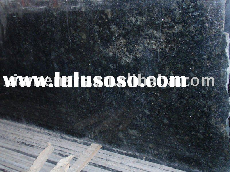 China verde butterfly granite slab