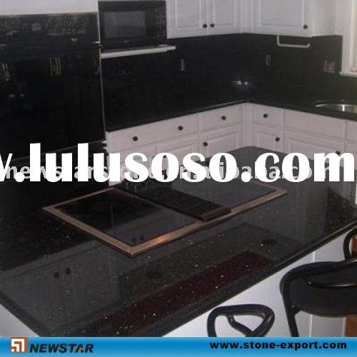 Galaxy Black Granite Countertop