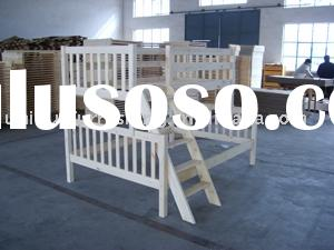 Pine wood bunk bed  for single/twin size