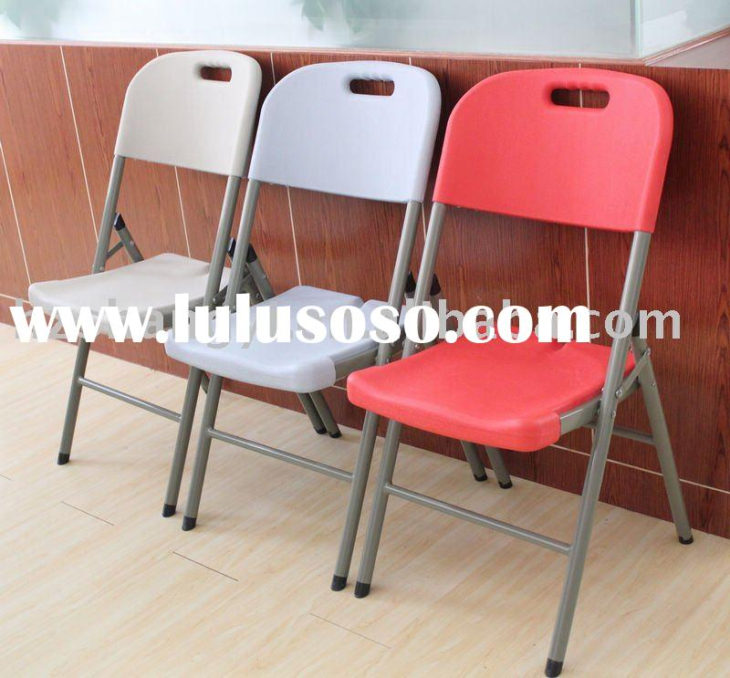 Plastic HDPE outdoor  bench folding chair