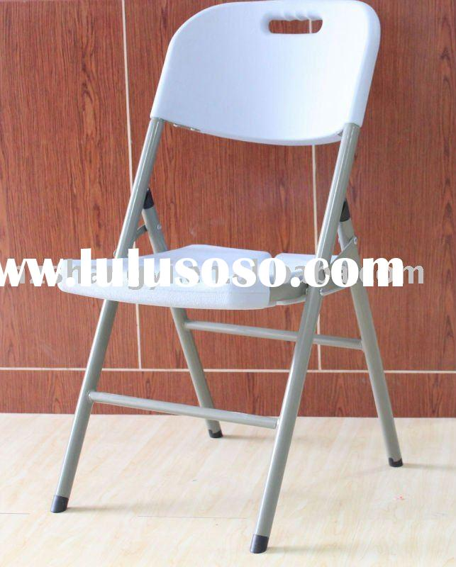 Plastic outdoor folding chair