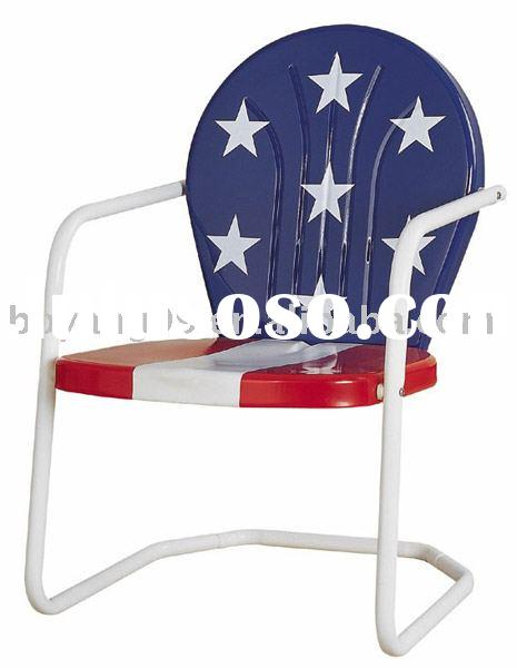 Retro Patio Metal Chair