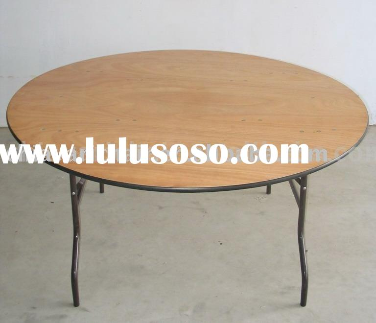 Round Plywood Folding Tables