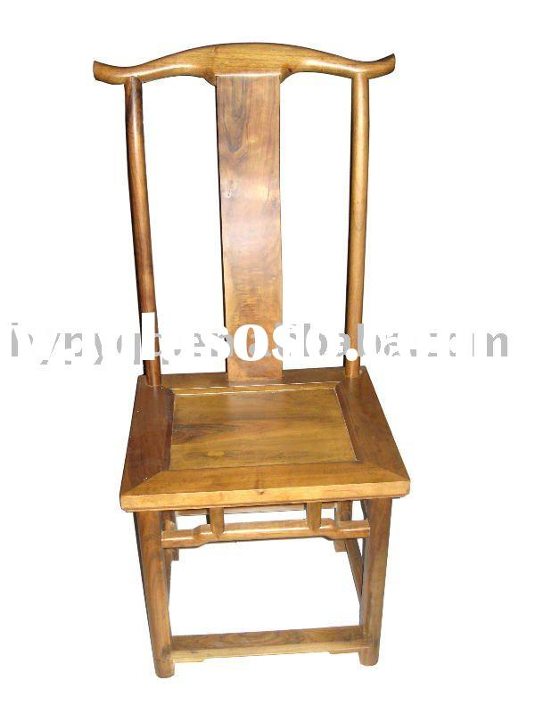 Solide wood leisure chair