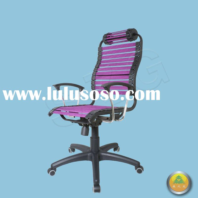 ergonomic chair with ball headrest