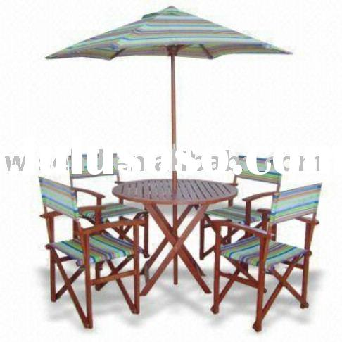 folding outdoor director chair set (W-6S-78)