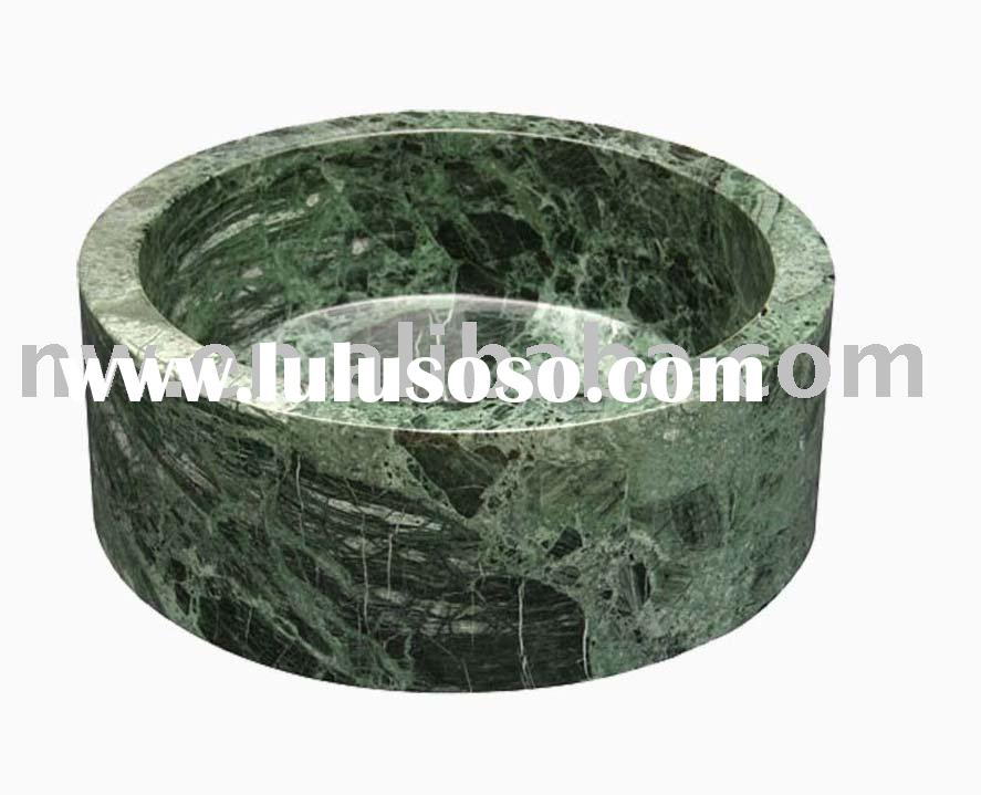 green granite bathroom basin