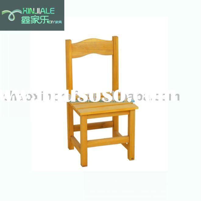 small garden wooden chair