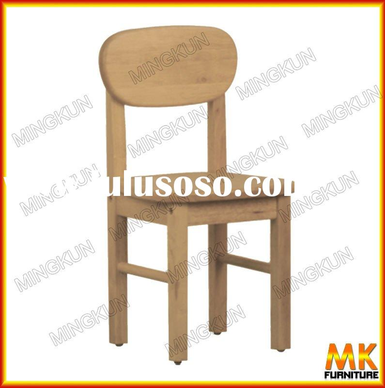 small wooden child chair