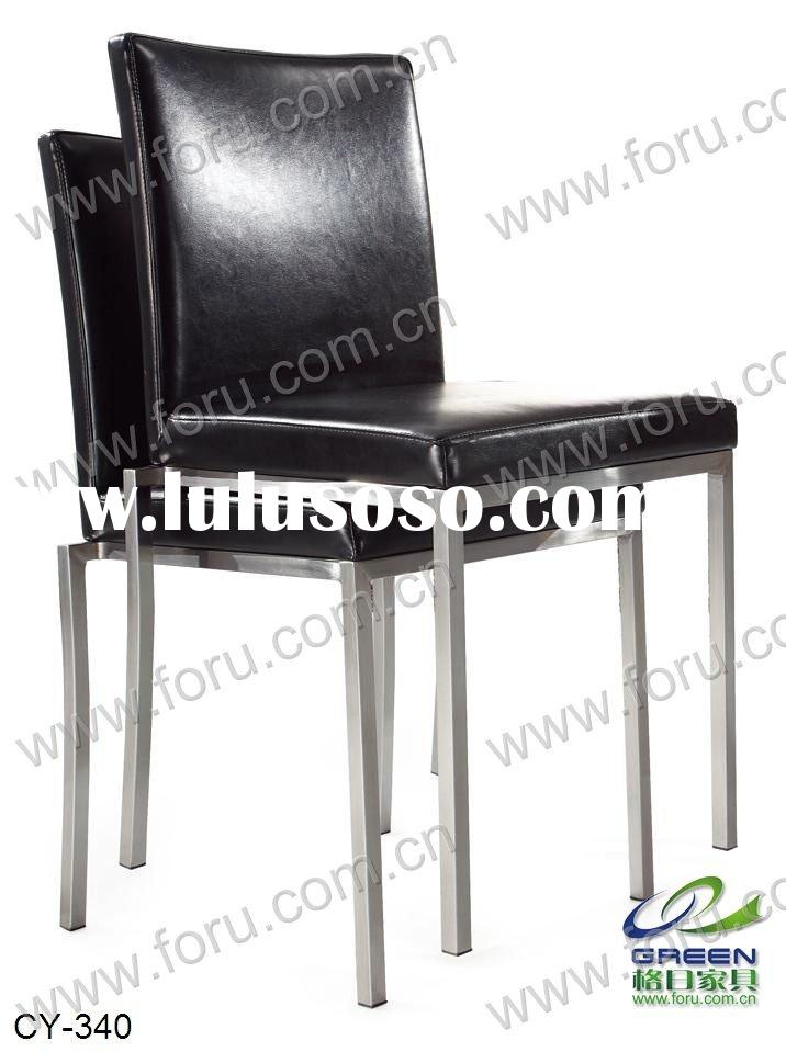 stainless steel stack chair