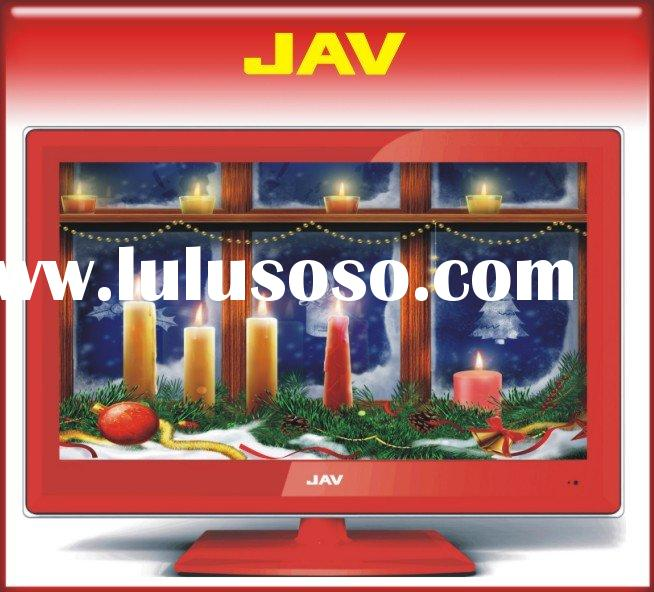 24 inch red lcd tv dvd combo