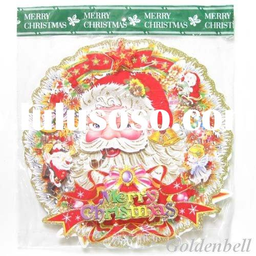 35cm xmas garland sticker