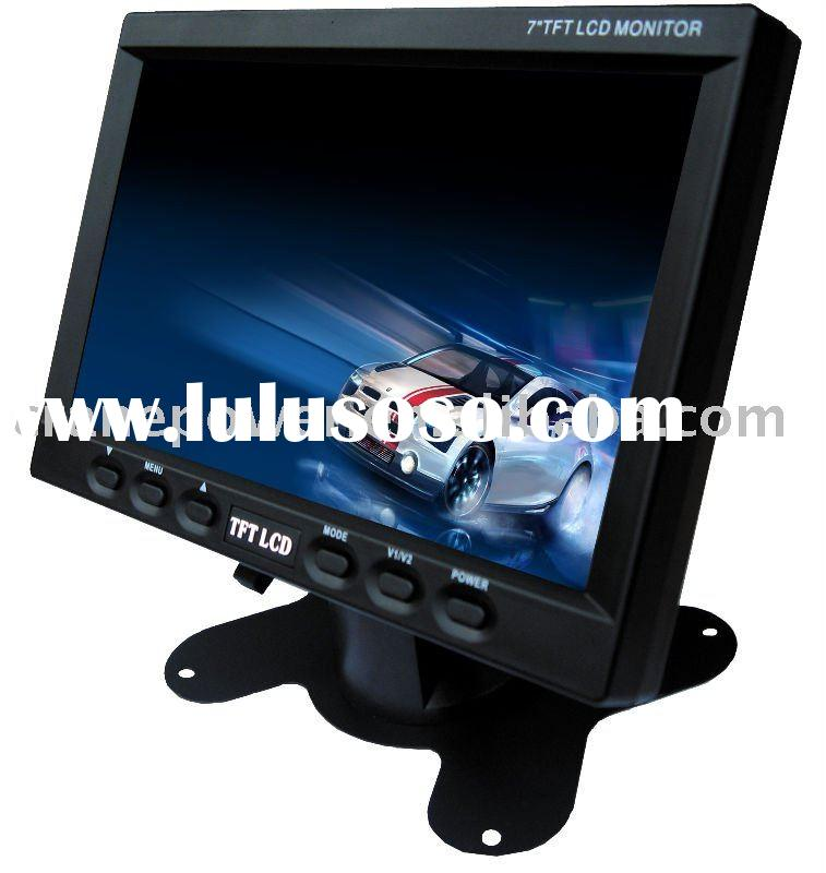 "7"" Car LCD TV FOR CAR DVD AUDIO"