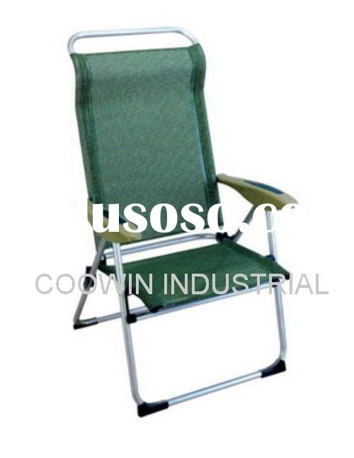 ALUMINUM FOLDING BEACH CHAIR