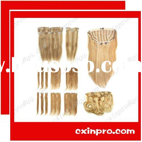 Cheap High Quality Clip In Hair Extension Wholesale