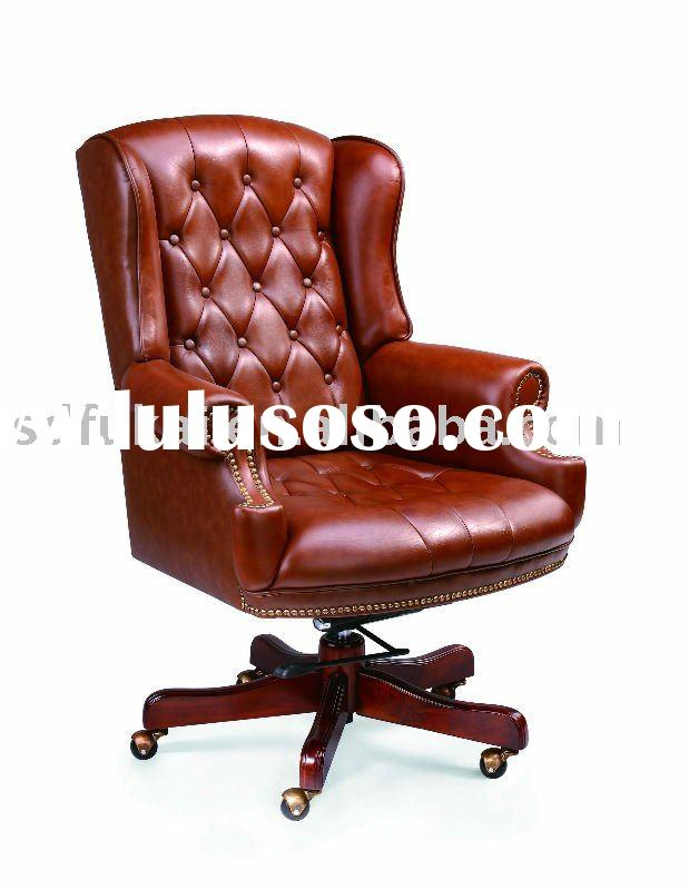 Classic leather office chair
