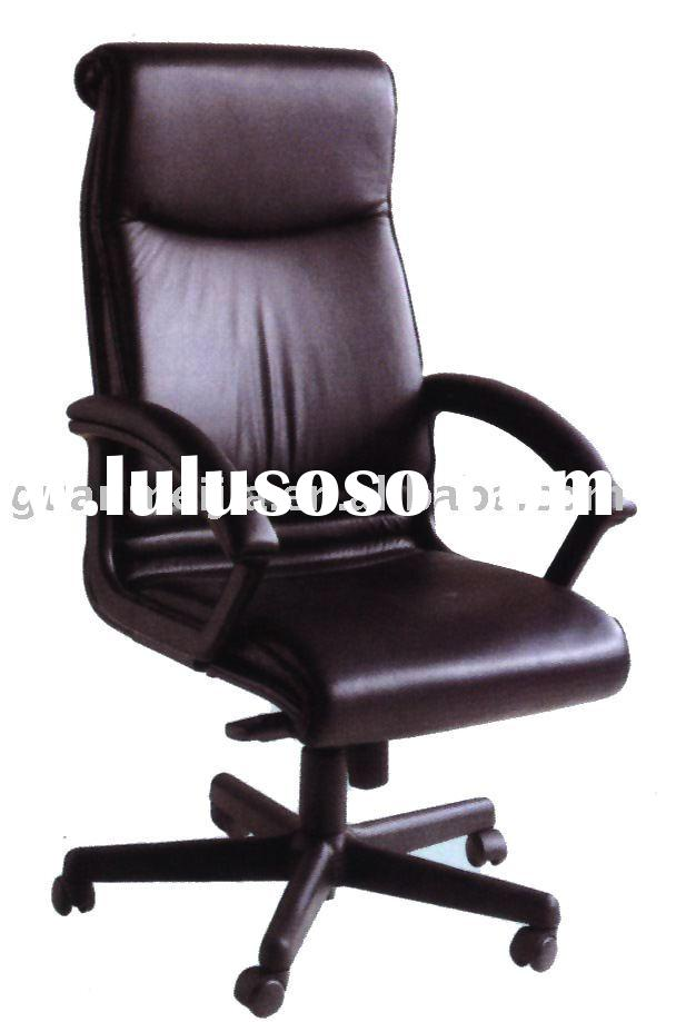 Comfortable office boss leather chair