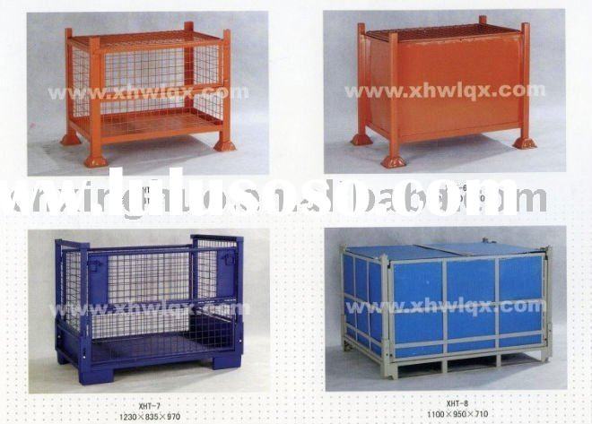 FOLDING METAL CONTAINER