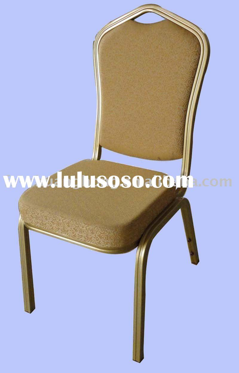 Fireproof  Aluminum Stacking Hotel Chair ( CH-L150 )