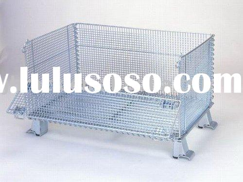 Folding Mesh Container