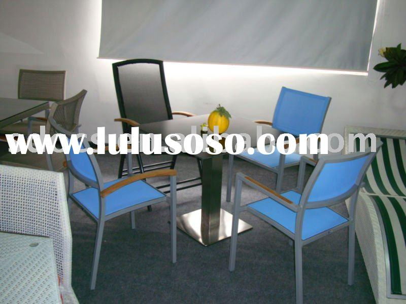 Outdoor Mesh fabric chairs