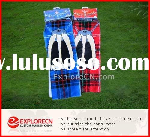 Promotional bath towels set