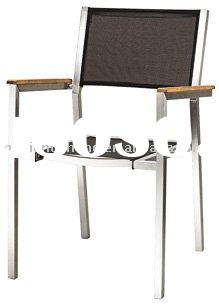 STAINLESS STEEL MESH CHAIR