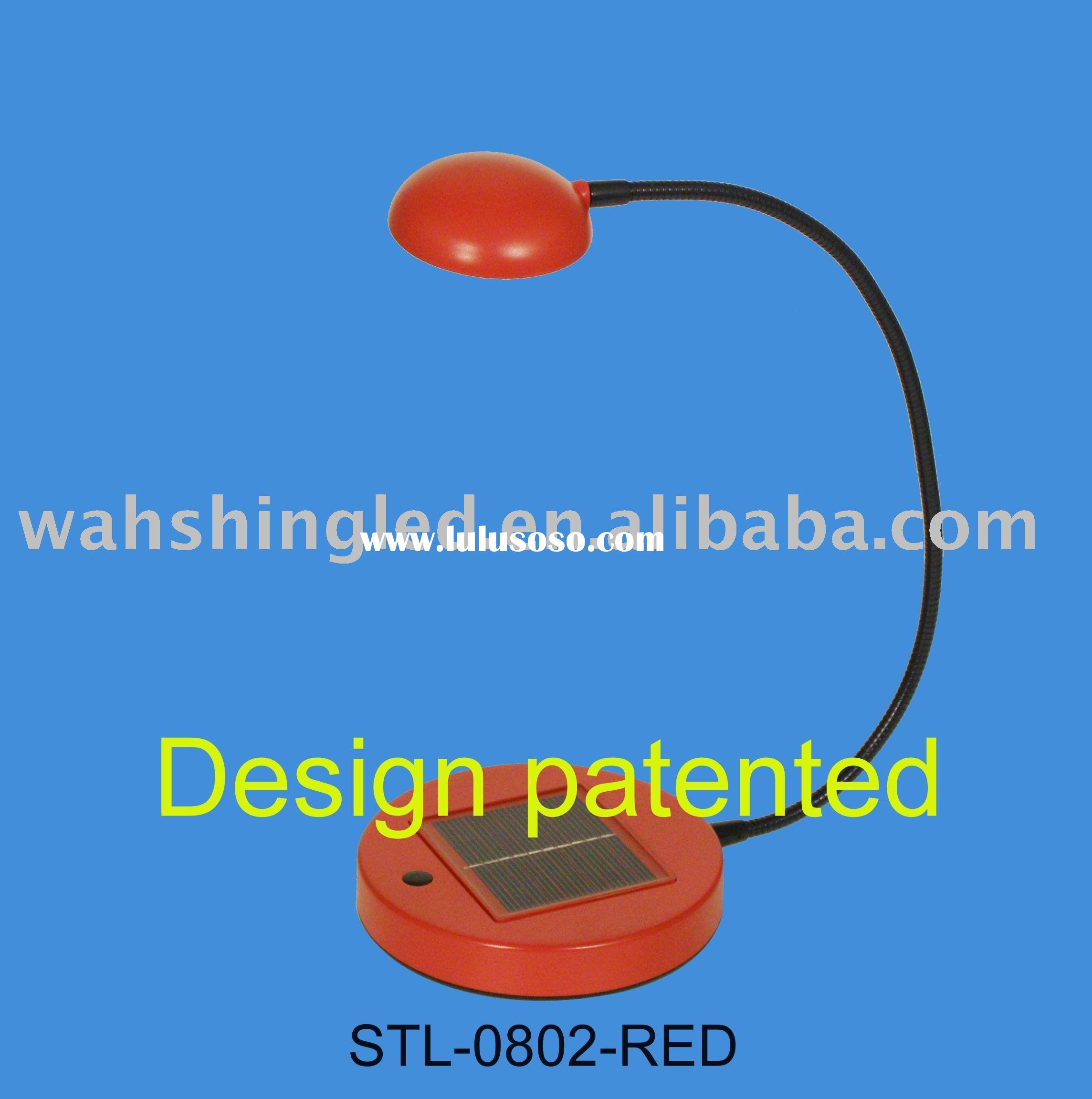 STL-0802, solar light, led reading lamp, white led