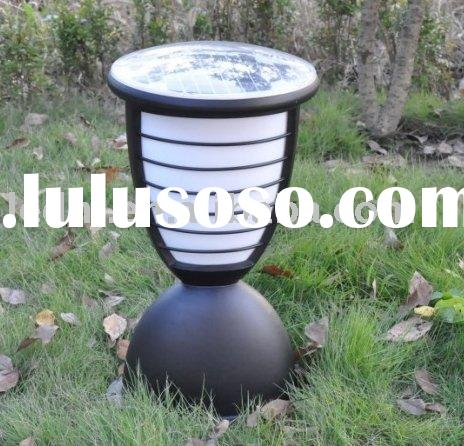 Solar outdoor spot lamp