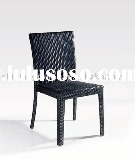 Stackable PE rattan chair
