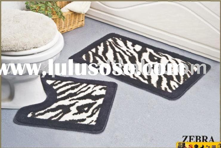 bath rug/bath carpet /Bathroom mat set/carpet