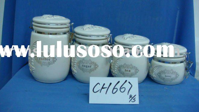 ceramic food container set