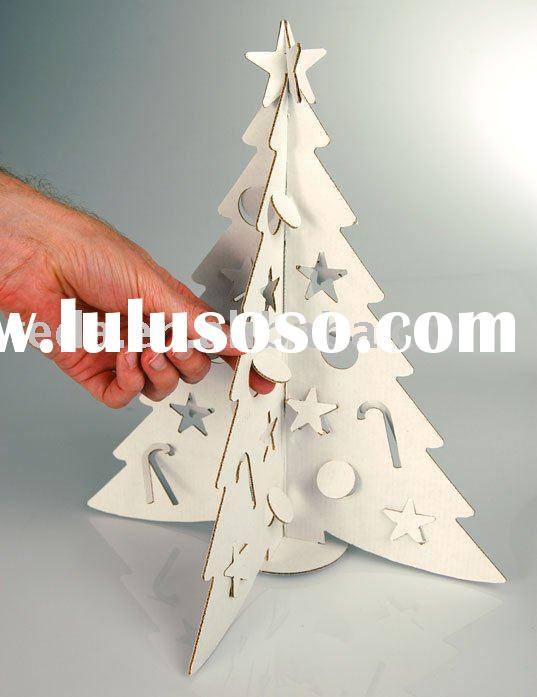 christmas tree paper-cut-outs