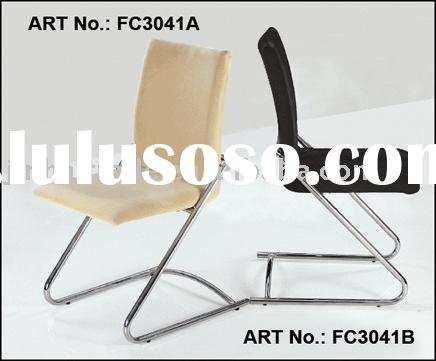 contemporary sled base chair