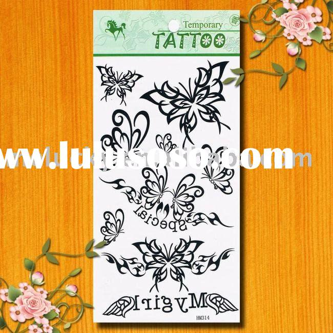 2010 Fashion tattoo sticker