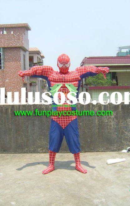 2011 spiderman party mascot