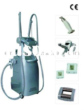 40KHz ultrasound cavitation+LED light therapy+Vacuum+Skin Rollers