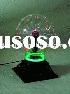 6 inches the electricity ion crystal ball electronics evil ball ion ball lightning flash ball+music