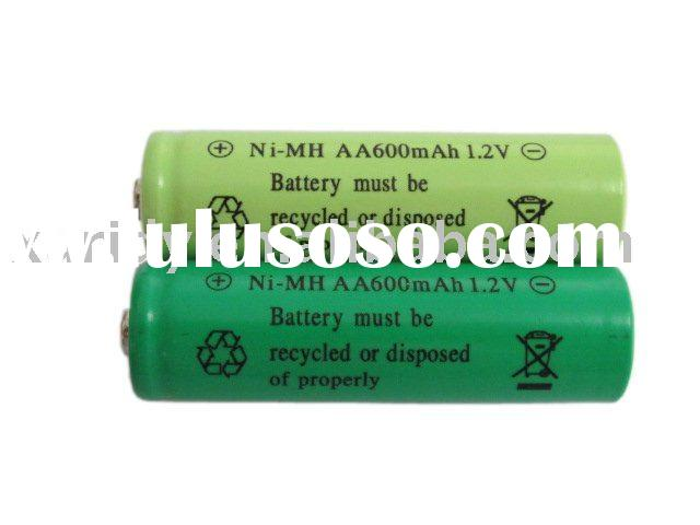 AA rechargeable battery for solar light