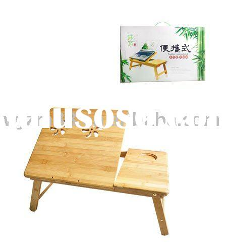 Bamboo computer table