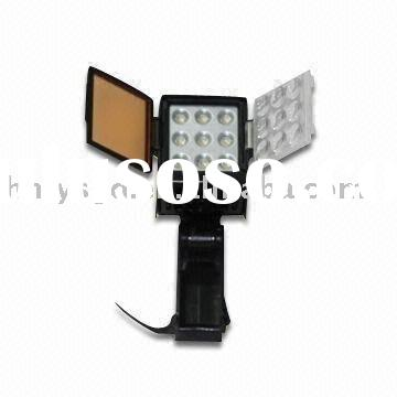 Bright LED camera light