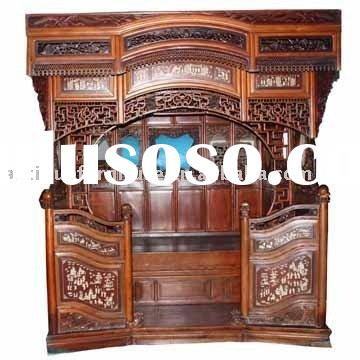 Chinese Antique Canopy Bed,Antique furniture